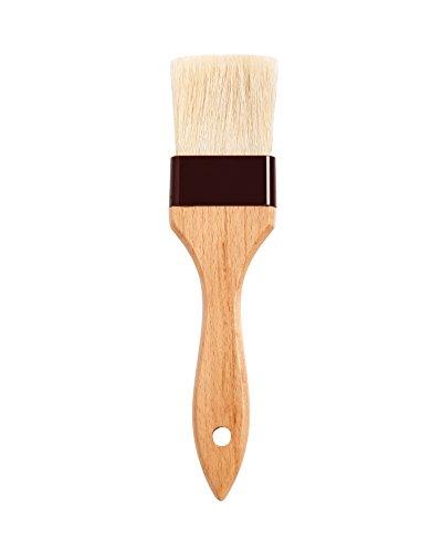 Mrs Andersons Baking Solid-Ferrule Natural Boar Bristles Pastry Basting Brush 2 x 825