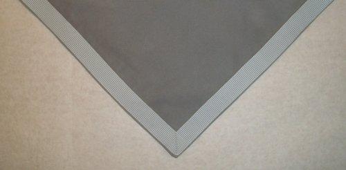 Sanders Classics 44 Square Silver Gray Card Bridge Table Cover