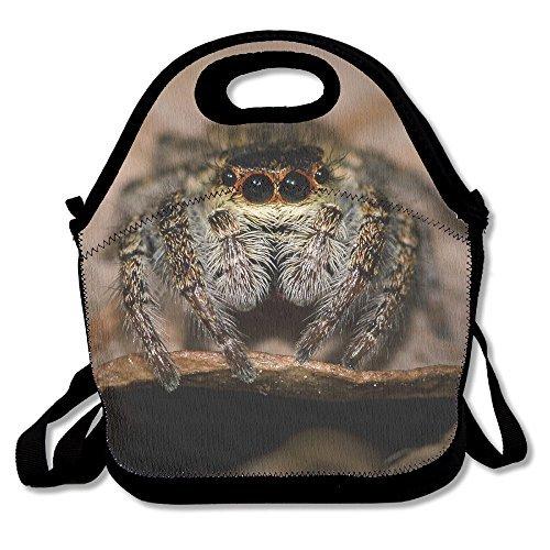 Cute Tarantula Spider Animal Lunch Box Tote Bag Cool