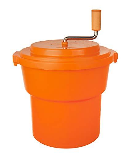Hakka 20 Liter5 Gallon Large Commercial Manual Salad Spinner&Dryer