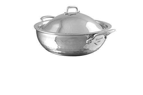 M'elite Splayed Saute Pan With Lid