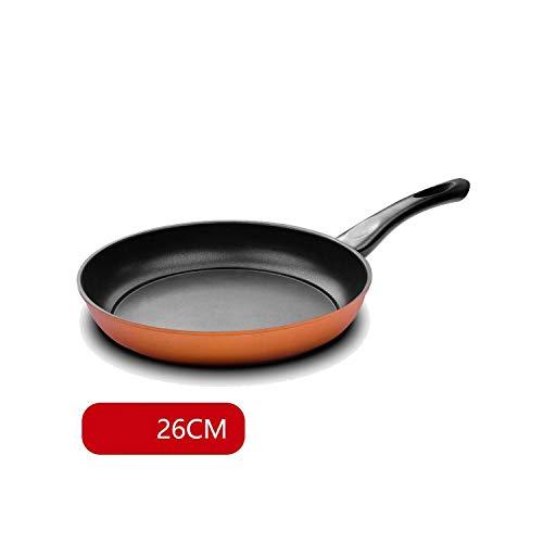 26Cm Frying Pan Maifan Stone Non Stick Pan Non Smoke Small Wok Cooker Grill Pan Kitchen Pot Pans HousewaresGold 26Cm