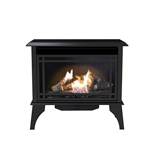 Pleasant Hearth VFS2-PH30DT 30000 BTU 32 in Intermediate Gas Vent Free Stove Black
