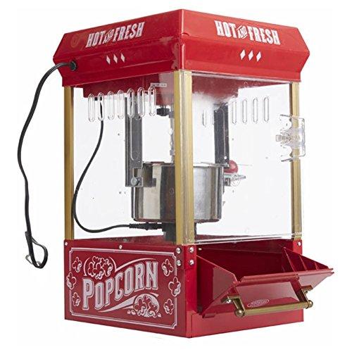 25 Oz Vintage Kettle Popcorn Maker Tabletop Popper