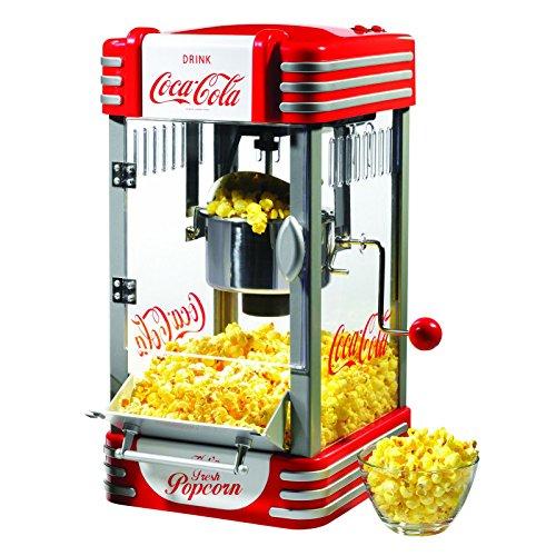 NEW Nostalgia Electrics Coca-Cola Series Kettle Popcorn Maker