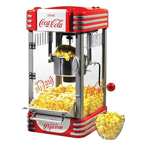 Nostalgia Electrics Coca-Cola Series RKP630COKE Kettle Popcorn Maker