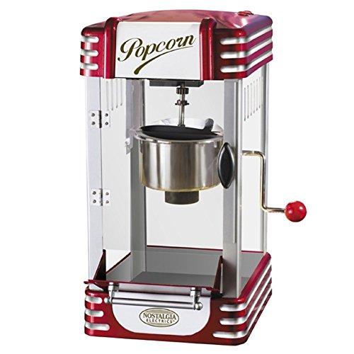 Retro Kettle Popcorn Maker Tabletop Popper