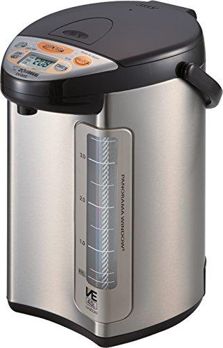 Zojirushi America Corporation CV-DCC40XT VE Hybrid Water Boiler and Warmer 4-Liter Stainless Dark Brown