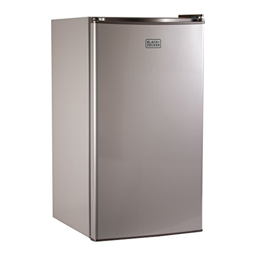 BLACKDECKER BCRK32V Compact Refrigerator Energy Star Single Door Mini Fridge with Freezer 32 Cubic Ft VCM
