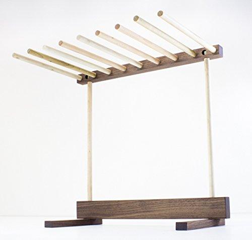 Maple And Walnut Hardwood Pasta Drying Rack