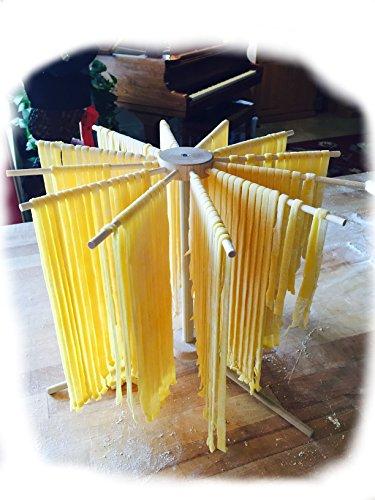 Pasta Drying Rack Single Tier Round Model