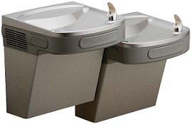 Elkay EZSTL8LC ADA Compliant Barrier Free Dual-Level Water Cooler 8 Gallons Per Hour