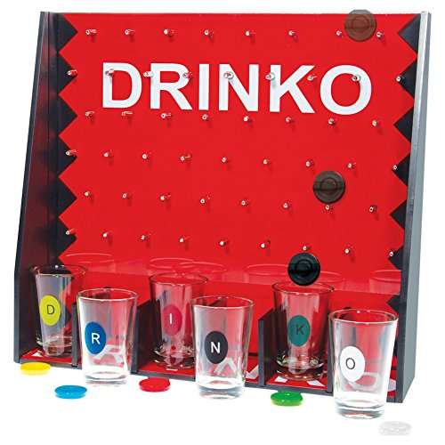 Home Essentials Beyond Funville Drinko Shot Set Game Clear