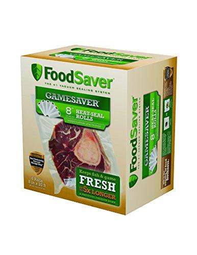 FoodSaver GameSaver 6-Pack 8 x 20 Long Rolls