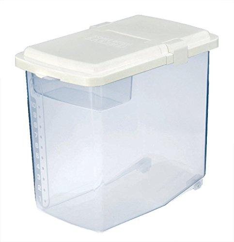 JapanBargain S-1826 Japanese Plastic Kome Bitsu Raw Rice Storage Container 10 kgs