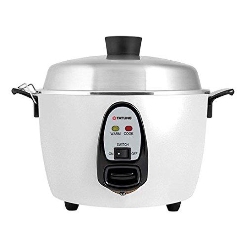 Tatung  TAC-10G SF  10 Cup Rice Cooker  White Aluminum Cook Pot