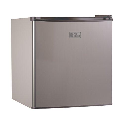 BLACKDECKER BCRK17V Compact Refrigerator Energy Star Single Door Mini Fridge with Freezer 17 Cubic Ft VCM