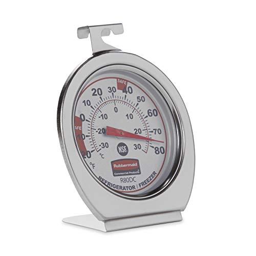 Rubbermaid Refrigerator Freezer Thermometer