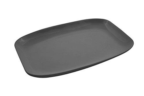 Bon Chef 5061BLK Aluminum Rectangular Casserole 2-58 quart Capacity 11 Length x 16 Width x 1-18 Height Black