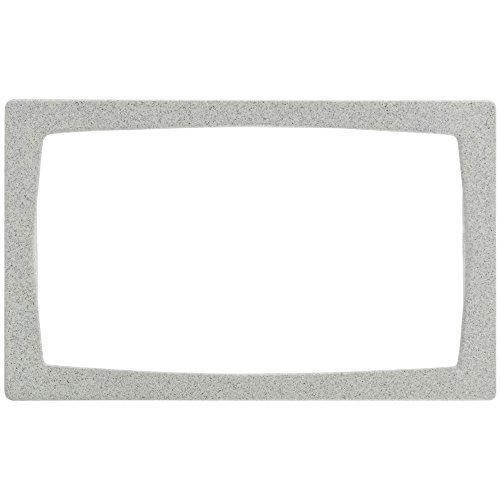 Bugambilia Full Size Grey Cast Aluminum Rectangular Bowl Cut-Out Tile - 21 1116L x 13 14W