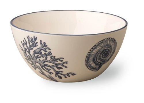 Boston International Ceramic Salad Bowl Shore Thing