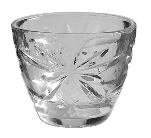 Anchor Hocking Prescut Clear Glass  Sugar Bowl  No Lid
