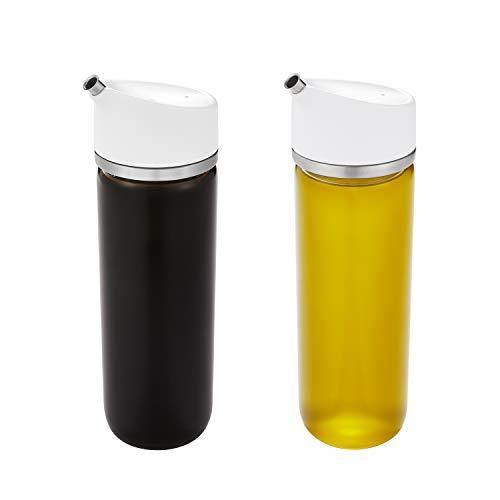 OXO Good Grips Precision Pour Glass Oil Vinegar Dispenser Set 12 oz