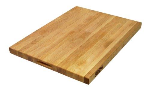John Boos 24-by-18-inch Reversible Maple Cutting Board