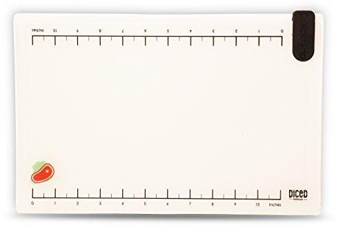 "Premium Plastic Cutting Board Set - 13.5"" X 9"" Large Chopping Board With 2 Flexible Cutting Mats, Nonslip, Dishwasher"