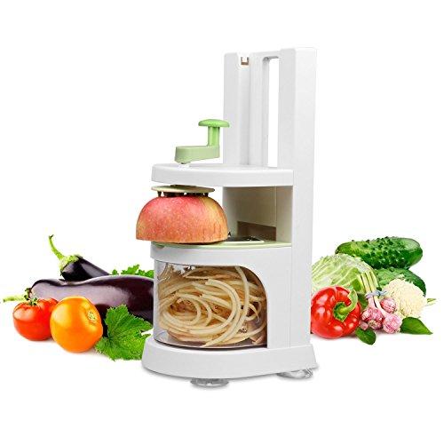MixMart Spiral Slicer Vegetable Fruit Spiralizer Cutter Fresh Veggie Spaghetti Pasta Maker