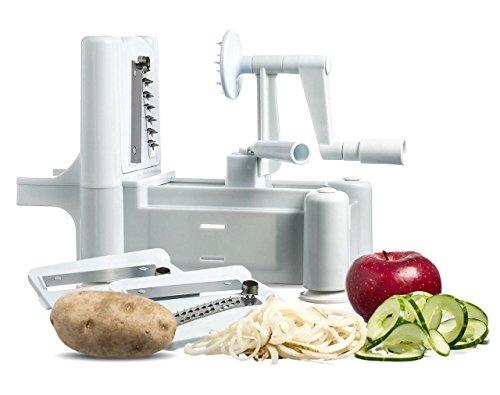 Spiral Vegetable Slicer Spiralizer Veggie Pasta Maker Fruit Chopper Shredder New