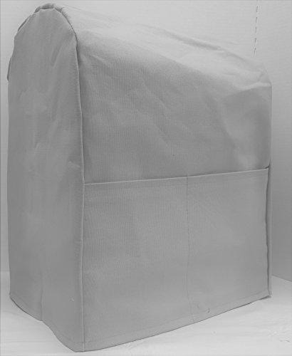 Canvas Kitchenaid Stand Mixer Cover 15 Colors Available 4556qt Lift Bowl Gray
