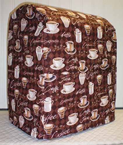 Coffee Kitchenaid 7 Quart Lift Bowl Stand Mixer Cover All Brown Coffee