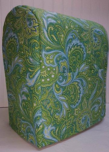 Green Blue Paisley Kitchenaid Stand Mixer Cover Lift Bowl All Paisley