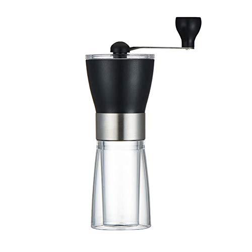CHoppyWAVE Manual Mill Pepper Grinder Pepper Shaker Hand Crank Coffee Grinder Pepper Bean Machine Kitchen Grinding Mill Tool Black