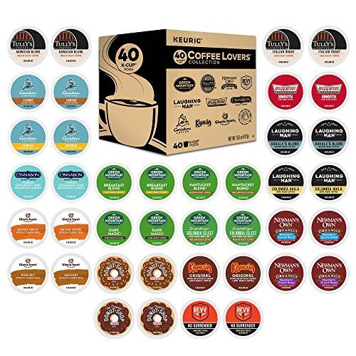 Keurig K-Cup 40 Count Coffee Lovers Variety Pack