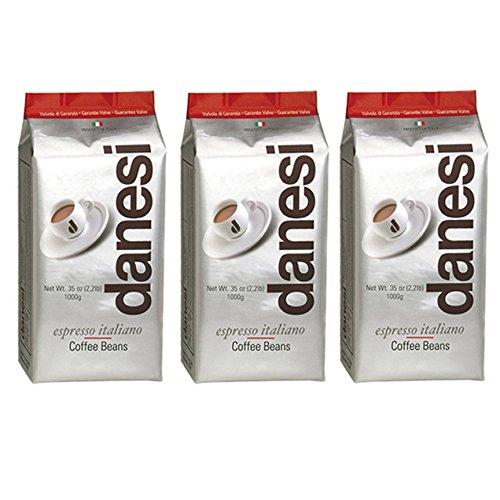 Danesi Caffe Espresso Italiano Classic Coffee Beans - 3 x 22 lb bags