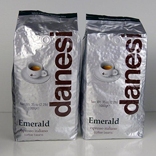 Danesi Emerald Quality Espresso Coffee Beans 2 x 22 lbs Bag