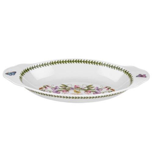Portmeirion Botanic Garden Oval Baking Dish With Handles