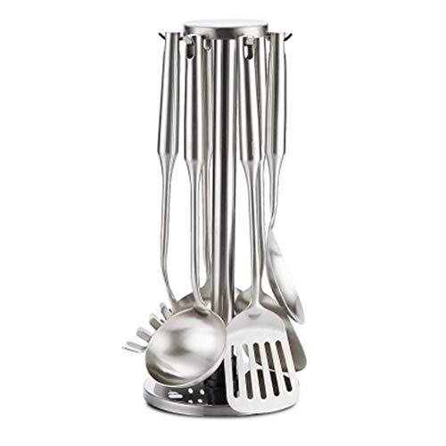 7-piece Kitchen Utensil Sets Kitchen Spatula Set Shovel Spoon Colander Full Set Of Household Stainless Steel Kitchenware