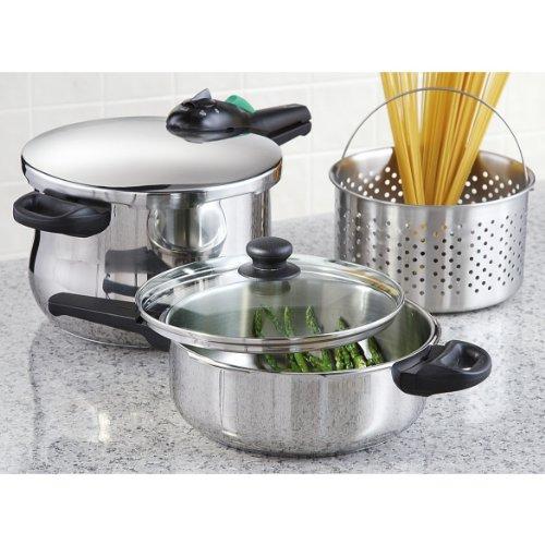 Fagor Rapida 5-pc Pressure Cooker Set