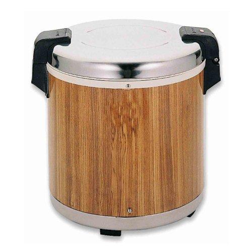 Excellante SEJ21000 Commercial Wood-Grain 50-Cup Rice Warmer