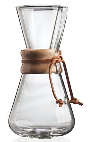 Chemex 3-Cup Classic Glass Coffee Maker