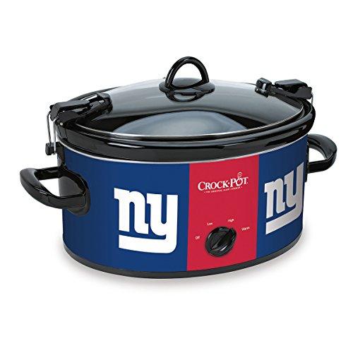 Crock-Pot New York Giants NFL 6-Quart Cook Carry Slow Cooker