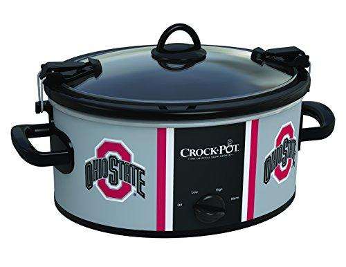 Crock-Pot Ohio State Buckeyes Collegiate 6-Quart Cook Carry Slow Cooker