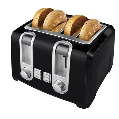 Black & Decker T4569b 4-slice Toaster, Black
