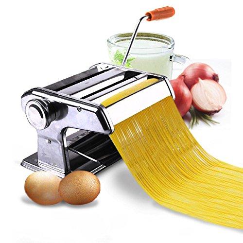 MasterPanel - 150mm 6 Pasta Maker Roller Machine Noodle Spaghetti&Fettuccine Maker Health TP3373