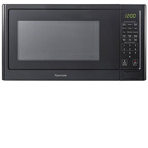 Kenmore 12 cuft Countertop Microwave Oven 1100 Watts - Black 75659
