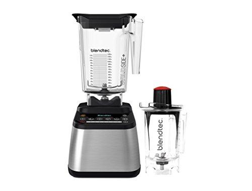 Blendtec D725C3216A1A-AMAZON Designer 725 Blender with Wild Side and Twister Jar Stainless Black