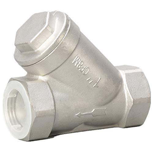 Y Strainer 1 inch Pump Filter Stainless Steel NPT 1000PSI Water Oil Gas 1